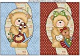 2 Chtistmas teddy card fronts 2 by Sharon Poore
