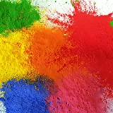 DALTON MANOR 6 X 100GM FESITIVAL / RUNNING THROWING POWDER HOLI/GULAL PACKS IN 6 ASSORTED COLOURS