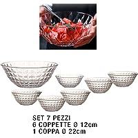 VOSAREA 1pcs plastica Gelato Ciotole di plastica Coppe Gelato con cucchiai Dessert Ciotole Tazza di Coppa Rosa