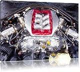 BMW m 3 Tuning Bild auf Leinwand, XXL riesige Bilder fertig gerahmt mit Keilrahmen, Kunstdruck auf Wandbild mit Rahmen, guenstiger als Gemaelde oder Bild, kein Poster oder Plakat, Format:120x80 cm