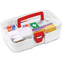 Milton First Aid Box, 1 Piece, White