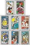 Mongolei 652-659 (kompl.Ausg.) 1971 Mongolische Volksmärchen (Briefmarken für Sammler)