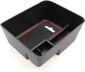 Cdefg Für Seat Ibiza Arona Handschuhfach Armlehne Multifunktionaler Aufbewahrung Auto Center Console Organizer Tray Innenraum Zubehöraum Zubehör Auto