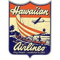King Kerosin < Hawaiian Airlines > adesivi /