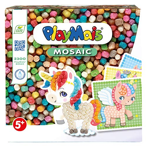 PlayMais Mosaic Dream Unicorn Bastelspaß Einhorn
