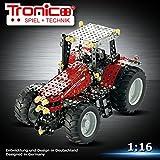 construction métallique, Jeu de Construction, - TRONICO - Tracteur MASSEY FERGUON MF-8690, 1024 pièces
