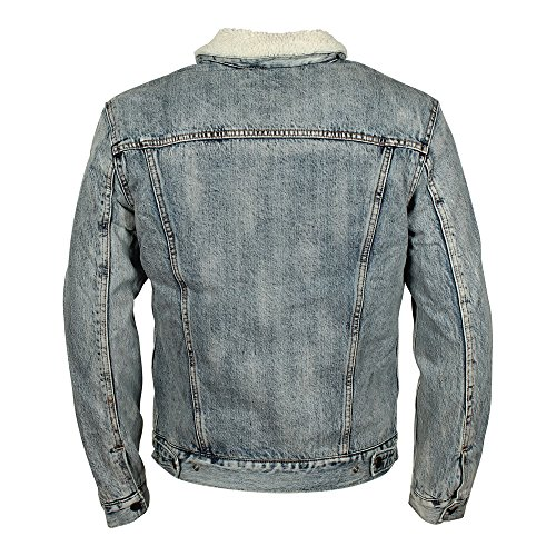 Levi's Sherpa, Giacca in Jeans Donna Blu