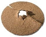 Windhager Kokos-Mulchscheibe COCODISC Winterschutz Pflanzenschutz Abdeckscheibe Frostschutz Kälteschutz für Bäume und Pflanzen, Ø 60 cm, 06557