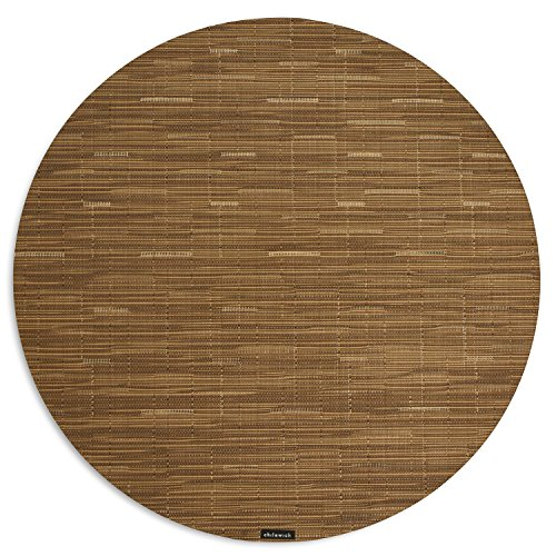 Chilewich Placemat Bamboo Round 38 Cm - Camel Chilewich Bamboo