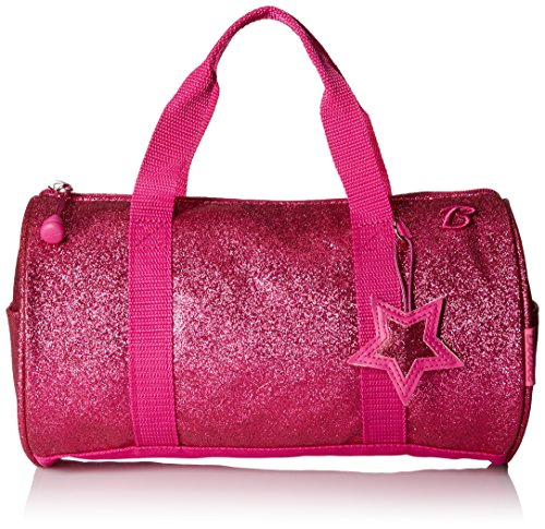 bixbee-sparklicious-glitter-duffel-bag-small-ruby-raspberry