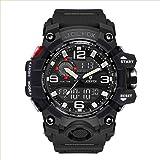 Orologio da polso digitale da uomo, Military Sport analogico digitale cronografo orologi per uomini, Big, 56 mm impermeabile