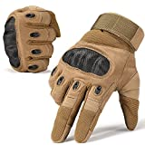 Best Motorcycle Riding Gloves - WTACTFUL Touch Screen Hard Knuckle Motorcycle Full Finger Review