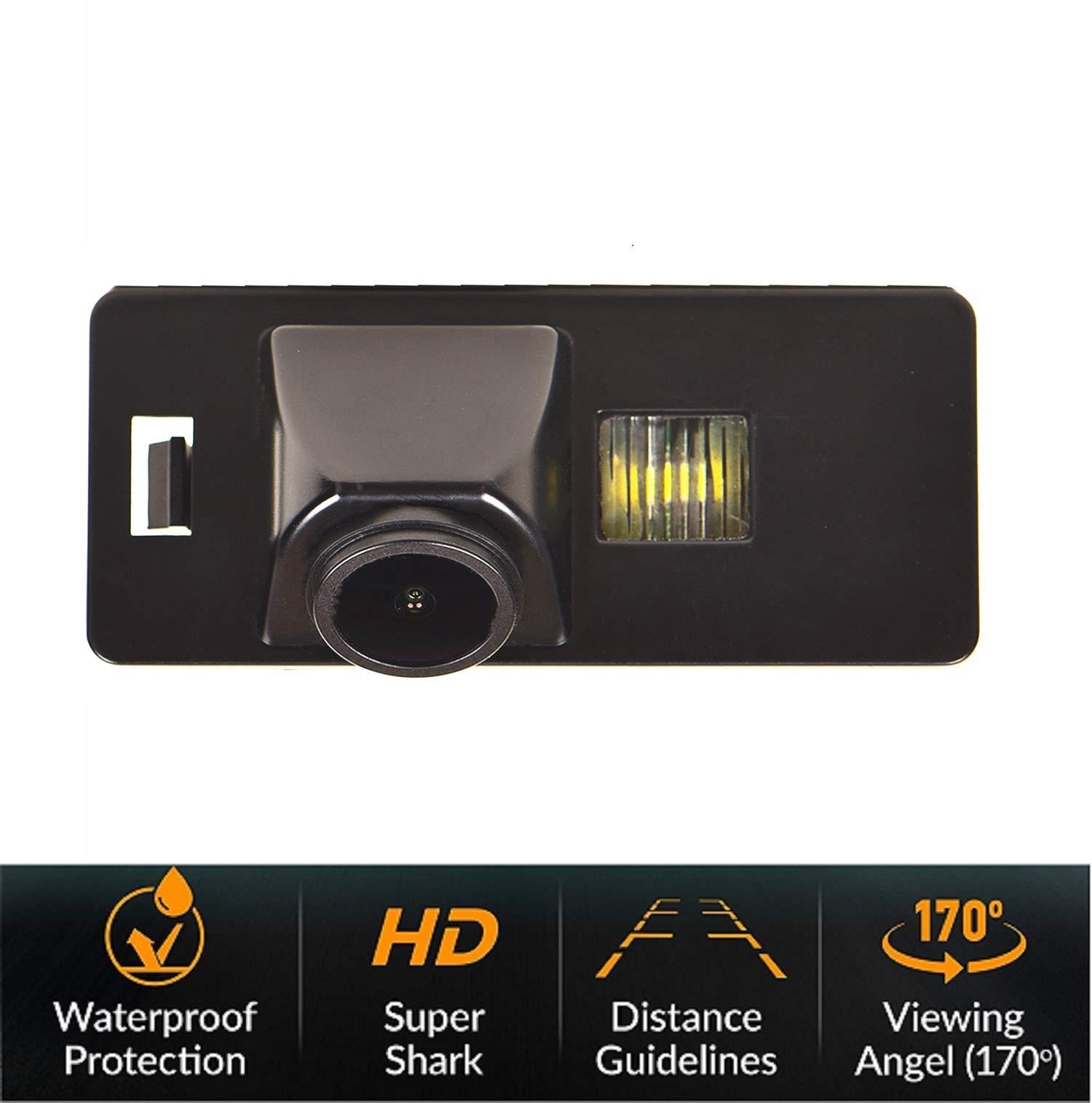 Rckfahrkamera-Rckfahrkamera-Rckfahrkamera-Nummernschild-Kamera-Nachtsicht-IP68-Wasserdicht-fr-Audi-A1-A3-8P-S3-A4-B6-B8-S4-A6-C6-S6-RS6-A8-RS4-TT-8N-Q5-Q3-Q7