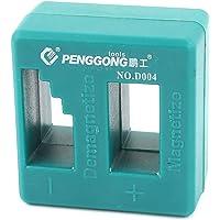 SOURCING MAP 52 mm x 50 mm pour tournevis Magnétiseur Démagnétiseur d'outils magnétique Vert