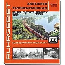 Amtlicher Taschenfahrplan Ruhrgebiet  Winter1967/68: Kursbuch Bundesbahndirektion Essen