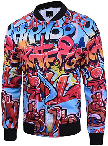 pizoff-unisex-luxury-hip-hop-smooth-lightweight-nylon-bomber-jackets-ma-1-with-colorful-star-graffit