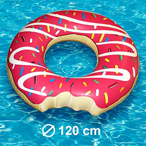 1 Riesen XXL Donut Schwimmringe Schwimmring Luftmatratze Party Pool Strand
