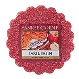 Yankee Candle Tarte Tatin Tart da Fondere, Cera, Rosso, 5.9 x 5.7 x 2 cm