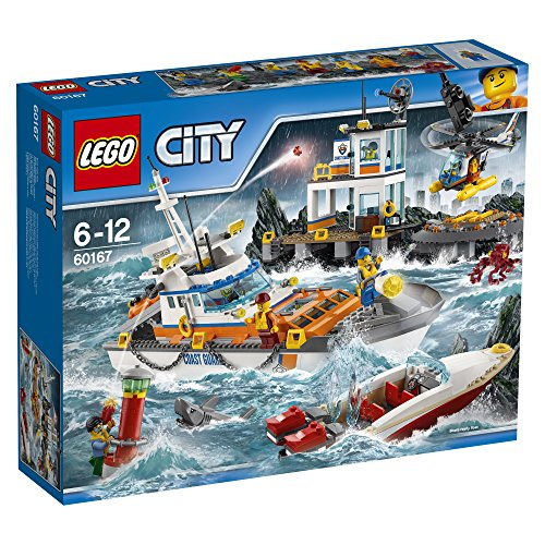 LEGO-UK-60167-Coast-Guard-Head-Quarters-Construction-Toy