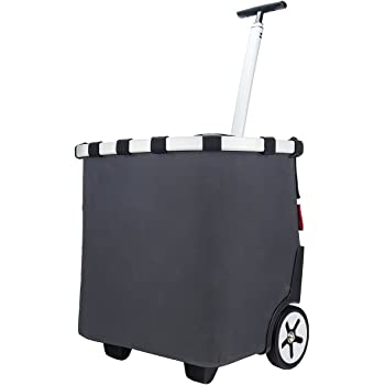 Reiseaccessoires Reisenthel Carrycruiser Trolley Einkaufskorb Thermo Kühltasche Schwarz 40 L