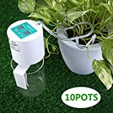 KING DO WAY Auto Bewässerungssystem Garten Bewässerung Verstellbar Zerstäuberfunktion Kits System DIY Pflanzen Wasser Gartenschlauch Automatische Kits (Tropfbewässerung)