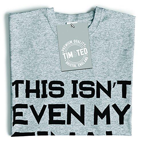 Das ist nicht einmal meine Endform Lustige Slogan Gymnastik-Training Herren T-Shirt Chocolate Brown
