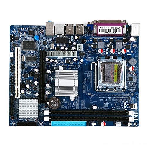 LGA 775 DDR2 Desktop-Motherboard für Intel 945GV Chip, integrierte Soundkarte Grafikkarte Netzwerkkarte, Unterstützung Single/Dual Core High Quality -