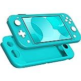MoKo Custodia Protettiva Compatibile con Nintendo Switch Lite, Case Protettiva in Silicone Resistente Anti-graffio Cover Acce