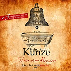 Stein vom Herzen - Live (inkl. 3 unveröffentlichten Demo-Versionen)