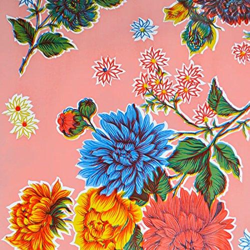 mantel-de-hule-para-mesa-120-cm-ancho-largo-por-medio-metros-modelo-flor-crisantemo-rosa-fantastik