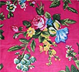 #10: Rajcrafts Pink color Jaiprui Cotton Running Fabric 2.5 Meter Dress Making Fabric, Fabric, Running Fabric, Cotton Fabric, Dress Runnig fabric,Handmade Fabric , Hand block Fabric, Fabric By Meter, Cotton Fabric For men, Cotton fabric for woman