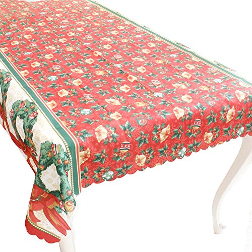 RainBabe Nappe de Table Ornement Decoration Table Cartoon Noël 150 * 180cm