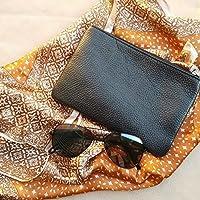 Ho realizzato questo piccolo portafoglio in pelle per carte di credito, monete, contanti, chiavi, cellulare ecc. Questo portafoglio è realizzato in pelle italiana di alta qualità, si adatta facilmente alla tua tasca o alla tua borsa.  - Misur...
