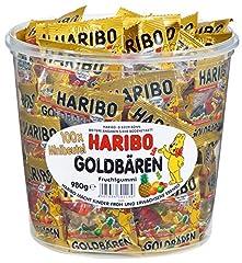 Idea Regalo - Haribo orsetti d'oro (Goldbären) - box, 100 mini bustine