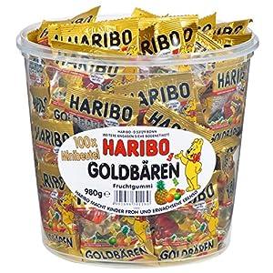 61dRjGXqH L. SS300 Haribo Orsetti Dorati, Caramelle Gommose alla Frutta, Dolciumi, Sacchetto, 3Kg