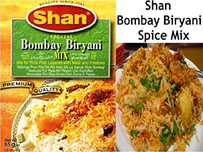 Bombay Biryani Mix | Shan Biryani Rice Pilaf Mix Masala Chicken Lamb Mutton Vegetable Bombay Spice Mix Indian Bombay Biryani Spice Mix from Falconsuperstore