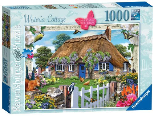 Ravensburger Country Cottage Collection Wisteria Cottage Jigsaw Puzzle (1000 Piece) Preisvergleich