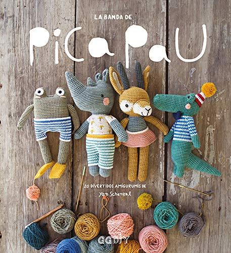 La banda de Pica Pau. 20 divertidos amigurumis (GGDiy)