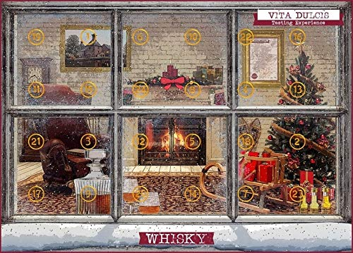 Vita Dulcis Whisky Adventskalender Edition Deluxe Scotch Single Malt 2018-24x0,02l - limitiert
