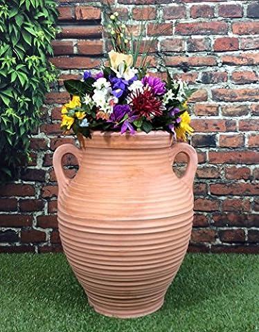 Athenian Grand Pot De Jardin En Effet Terre Cuite