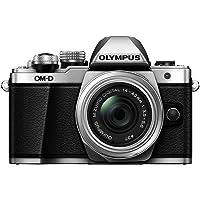 Olympus OM-D E-M10 Mark II Mirrorless Digital Camera (Silver) - Body only