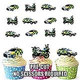 véritable véhicules de police vo...