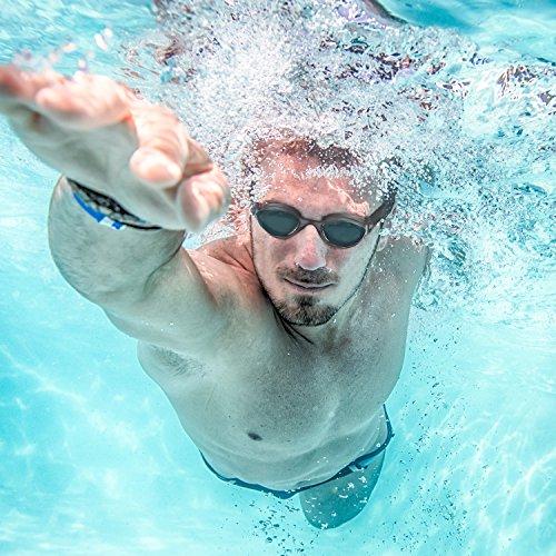 Schwimmbrille Mit HiHiLL Kein Auslaufen schwimmbrille Erwachsene,  100% UV Schutz Spiegel SG-G1 - G1 Auge