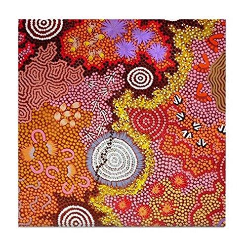 CafePress - Art Aborigène 2 - carrelage Dessous de Verre, boissons Dessous de Verre, petite Dessous de Plat