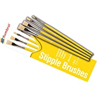 Humbrol- Brush Pack Lot de pinceaux, AG4306, Coloris Assortis