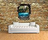dalinda® Design Carta da Parati in Tessuto Non Tessuto Carta da Parati in Effetto 3D, Cenote Messico Muro di Pietra Naturale Carta da VT576