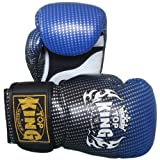 Top King Air Super Star TKBGSS-01-BU - Guantes de muay thai, color azul Talla:12 Oz.