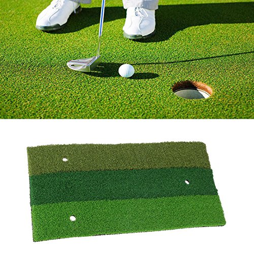 60x30cm Golf Mat Rubber Outdoor Indoor Eco-Friendly Green Golf Hitting Mat Practice Equipment -