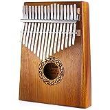 Nabance Kalimba 17 Clés Piano à pouce Professionnel De Haute Qualité Instrument de Musique avec Tuning Hammer et 7 Accessoire