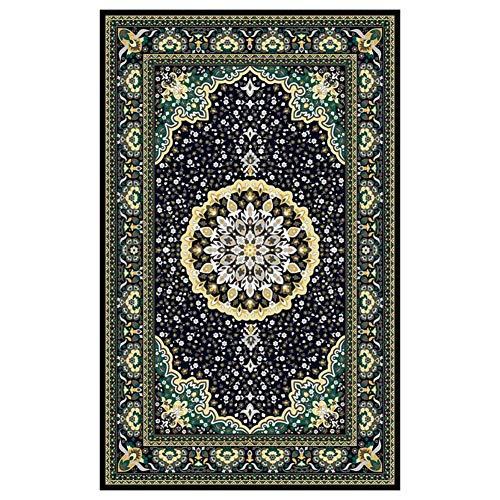 Große Teppiche Vintage Flower Fußmatten waschbar rutschfeste dekorative weiche Teppiche für Küche Wohnzimmer Flur Schlafzimmer Esszimmer
